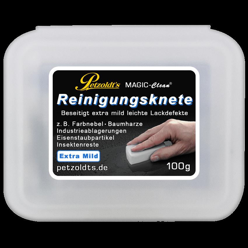 Weiße Magic-Clean Reinigungsknete, extra mild