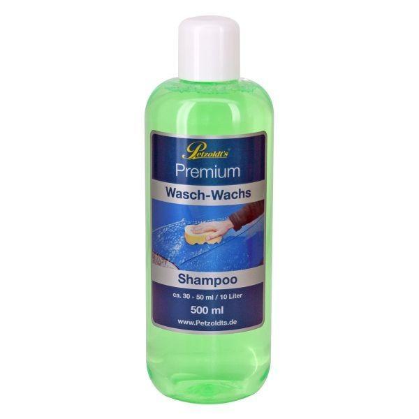 Autoshampoo wax