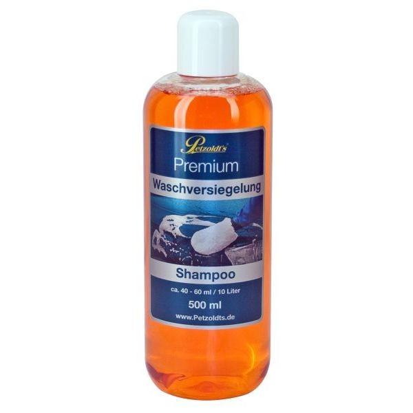 Autoshampoo verzegeling