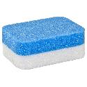 Polijstblok Blauw-Wit